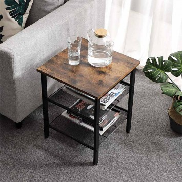 LET24X Table basse en bois